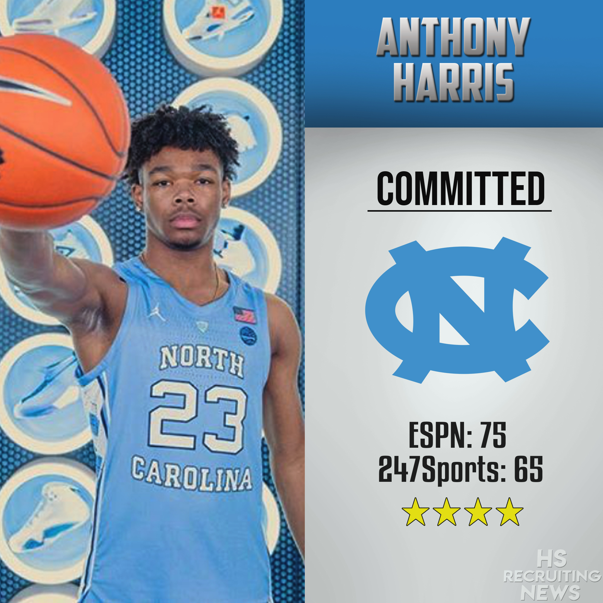 info for c46a9 f33e6 Anthony Harris commits to UNC – HS Recruiting News